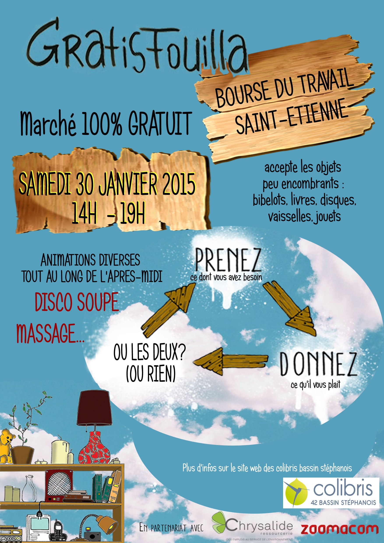 Affiche Gratifouilla 30 janvier 2015